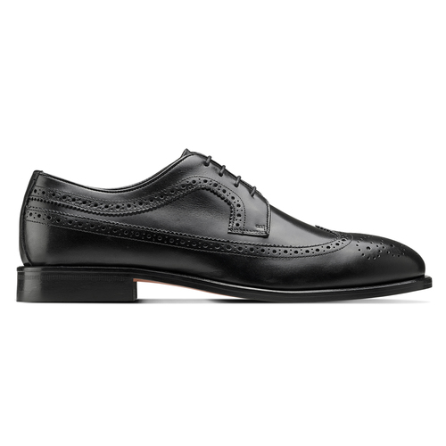 Scarpe Derby in pelle bata-the-shoemaker, nero, 824-6192 - 26