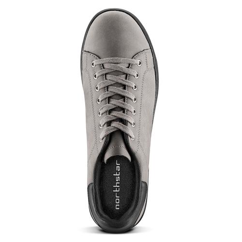 Sneakers North Star uomo north-star, grigio, 841-2731 - 15