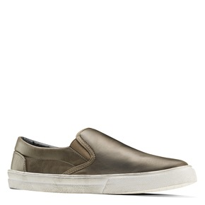 Slip-on uomo north-star, grigio, 831-2111 - 13
