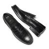 Mocassini in vera pelle bata, nero, 814-6175 - 26
