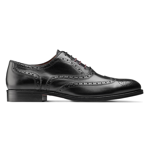 Scarpe basse stringate bata-the-shoemaker, nero, 824-6593 - 26