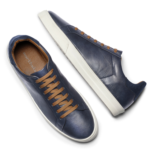 Sneakers Leonardo north-star, blu, 841-9730 - 19