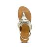 Sandali oro con volant bata, oro, 564-8118 - 15