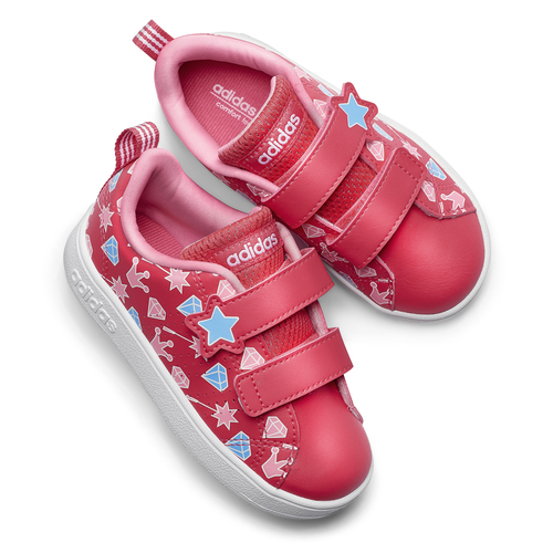 Scarpe Adidas da bimba adidas, rosso, 101-5533 - 19
