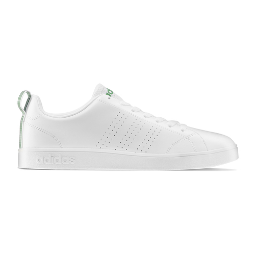 Adidas Neo in pelle sintetica bianca con tre strisce traforate adidas, bianco, 801-1200 - 26