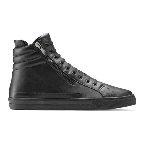 Sneakers nere alla caviglia north-star, nero, 841-6504 - 26