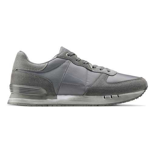 Sneakers North Star uomo north-star, grigio, 849-2732 - 26