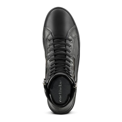 Sneakers nere alla caviglia north-star, nero, 841-6504 - 15