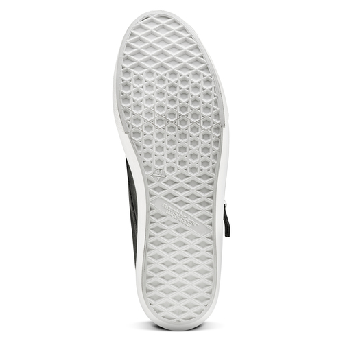 Slip-on nere con fibbie north-star, nero, 831-6110 - 17