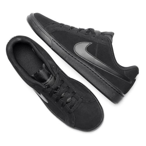 Sneakers Nike da uomo in suede nike, nero, 803-6302 - 19