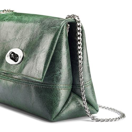 Mini-bag a tracolla bata, verde, 964-7739 - 15