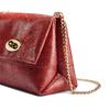 Borsetta rossa in pelle bata, rosso, 964-5539 - 15
