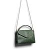 Borsa con manico e tracolla bata, verde, 961-7172 - 17