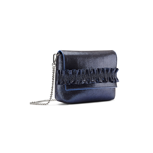 Mini bag a tracolla bata, blu, 969-9176 - 13