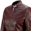 Giacca similpelle bordeaux bata, rosso, 971-5203 - 15