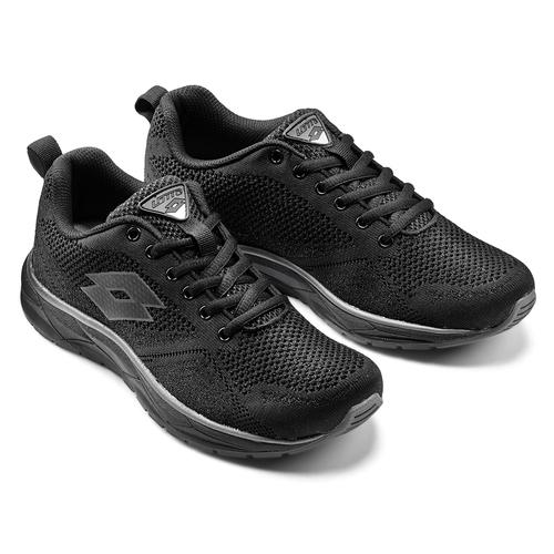 Sneakers donna Lotto lotto, nero, 509-6312 - 19