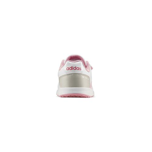 Scarpe Adidas da bambine adidas, bianco, rosa, 309-1189 - 16