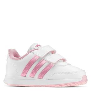 Scarpe Adidas bambina adidas, bianco, rosa, 109-1189 - 13