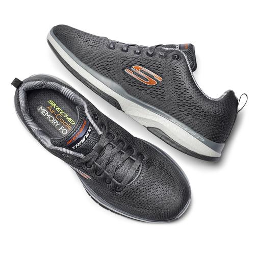 Scarpe Skechers da uomo skechers, grigio, 809-2330 - 19