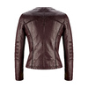 Giacca burgundy in similpelle da donna bata, rosso, 971-5204 - 26