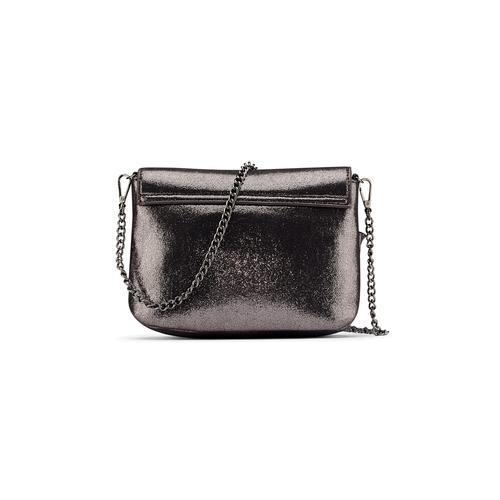 Mini bag con volant bata, marrone, 969-2176 - 26