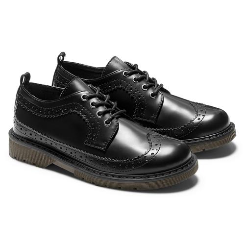 Scarpe basse con lacci mini-b, nero, 311-6276 - 19