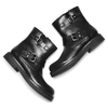 Ankle boots Courtney bata, nero, 591-6143 - 19