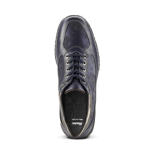 Scarpe comfort viola bata, blu, 524-9663 - 15
