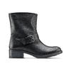 Ankle Boots in pelle con fibbia bata, nero, 694-6420 - 26