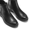 Stivaletti da donna con doppia zip bata, nero, 594-6278 - 15