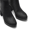 Tronchetti da donna con strass bata, nero, 799-6659 - 15