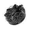 Borsa secchiello bata, nero, 961-6132 - 16