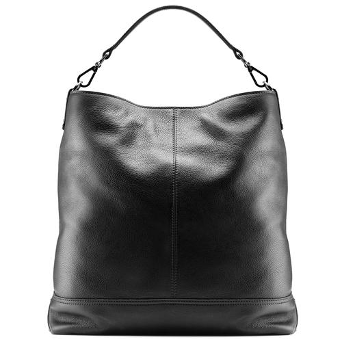Shopper da donna in pelle bata, nero, 964-6261 - 26