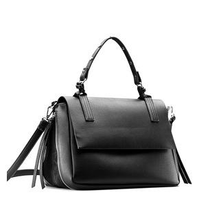Borsa da donna espandibile con zip bata, nero, 961-6171 - 13