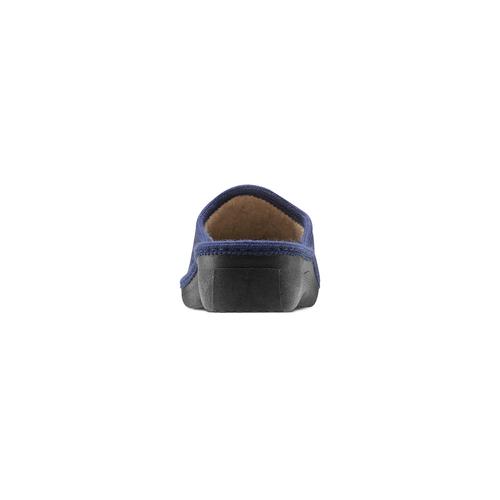 Ciabatte donna bata, blu, 579-9280 - 16