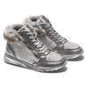Sneakers con pelliccia da bimba mini-b, grigio, 329-2287 - 19