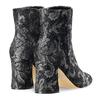 Tronchetti intarsiati con tacco bata, nero, 799-6171 - 19