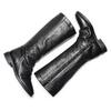 Stivali con dettaglio arricciato bata, nero, 594-6355 - 19