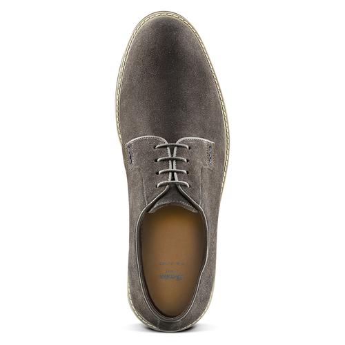 Scarpe Derby da uomo bata-light, grigio, 823-2986 - 15