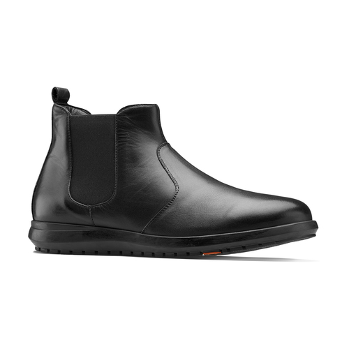 Chelsea Boots in pelle flexible, nero, 844-6117 - 13