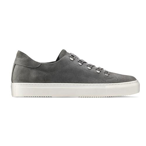Sneakers in suede da uomo north-star, grigio, 843-2736 - 26