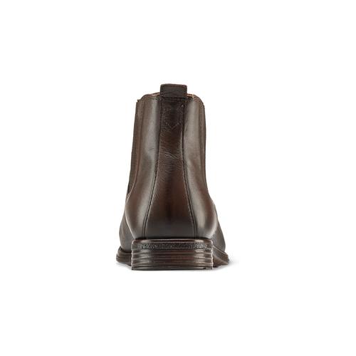 Chelsea Boots in pelle da uomo bata, marrone, 894-4152 - 16