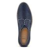 Scarpe stringate in camoscio bata-light, blu, 823-9986 - 15