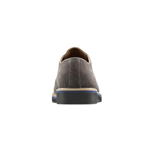 Scarpe Derby da uomo bata-light, grigio, 823-2986 - 16