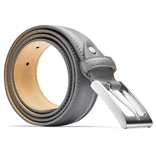 Cintura elegante da uomo bata, grigio, 954-2828 - 26