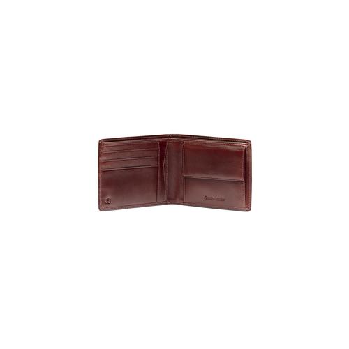 Portafoglio da uomo in pelle bata, marrone, 944-4122 - 16