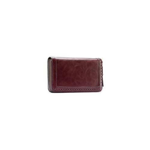 Portafoglio da donna in similpelle bata, rosso, 941-5159 - 13