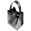 Borsa a secchiello bicolor bata, nero, 961-2173 - 17