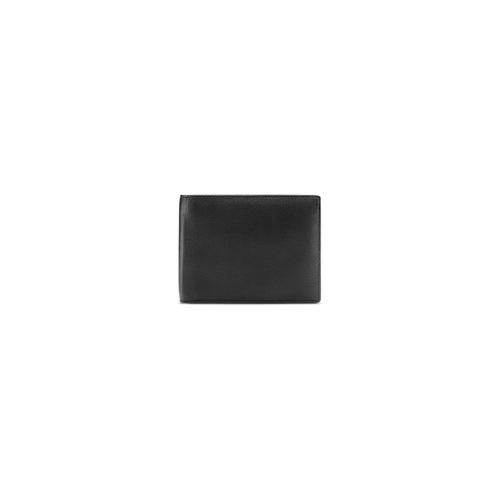 Portafoglio da uomo in pelle bata, nero, 944-6124 - 26