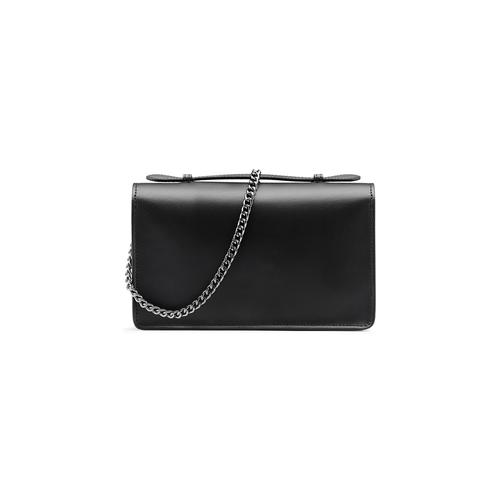 Pochette nera in pelle bata, nero, 964-6241 - 26